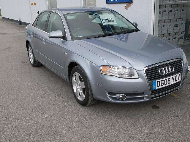 Used Audi A4 2005 Silver Saloon Diesel Manual for Sale