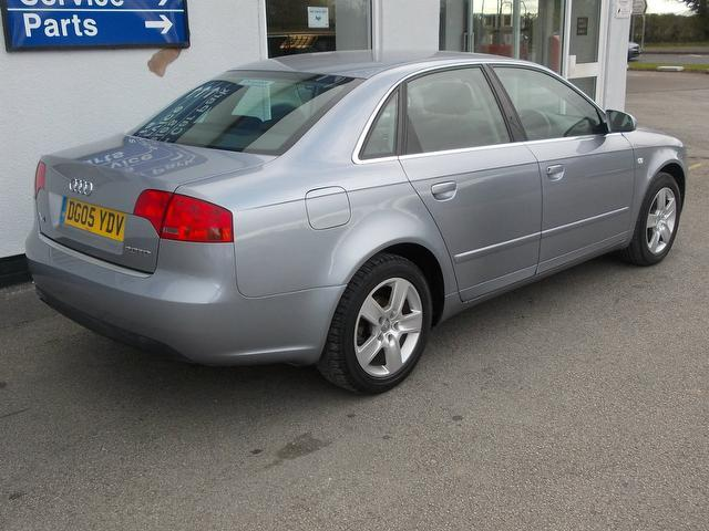 used audi a4 2005 silver paint diesel 2 0 tdi se 4dr saloon for sale in wirral uk autopazar. Black Bedroom Furniture Sets. Home Design Ideas