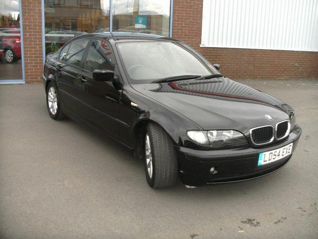 used bmw 3 series 2004 diesel 320d es 4dr saloon black. Black Bedroom Furniture Sets. Home Design Ideas