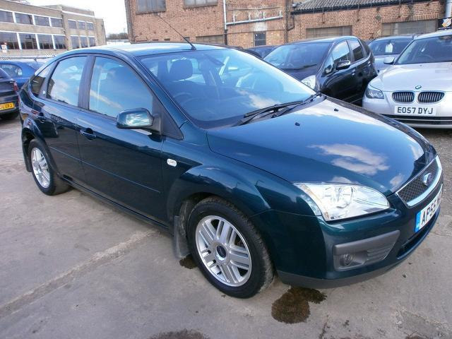 used 2006 ford focus hatchback green edition 1 6 tdci ghia. Black Bedroom Furniture Sets. Home Design Ideas