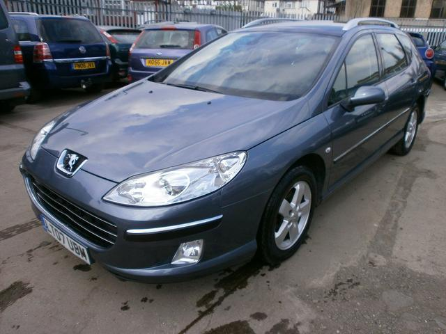 Used Peugeot 407 1.6 Hdi 110 Se Estate Grey 2007 Diesel for Sale in UK