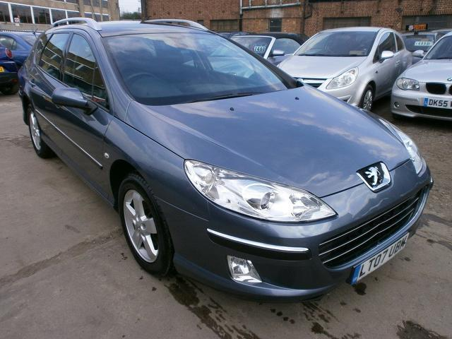 Used Peugeot 407 2007 Grey Estate Diesel Manual for Sale