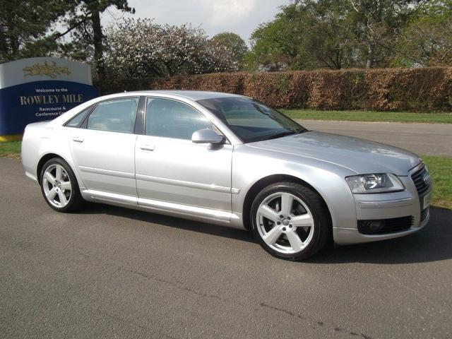 Used Audi A8 2006 Silver Saloon Petrol Automatic for Sale
