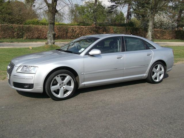 Used Audi A8 3.2 Fsi Se 4 Door Saloon Silver 2006 Petrol for Sale in UK