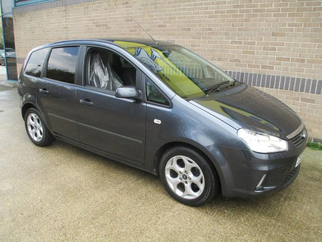 used ford c max 2009 manual petrol 1 6 zetec 5 door grey for sale uk autopazar. Black Bedroom Furniture Sets. Home Design Ideas