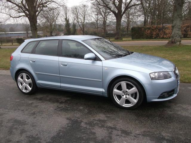 used audi a3 car 2007 blue diesel 2 0 tdi s line hatchback for sale in newmarket uk autopazar. Black Bedroom Furniture Sets. Home Design Ideas