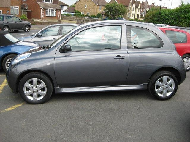 used nissan micra 2003 petrol 1 4 sve 3dr auto hatchback grey automatic for sale in. Black Bedroom Furniture Sets. Home Design Ideas