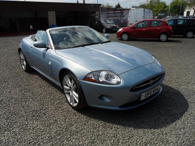 used jaguar xk 2009 petrol 4 2 v8 2dr auto convertible. Black Bedroom Furniture Sets. Home Design Ideas
