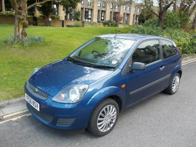 used ford fiesta 2006 blue paint petrol style 3dr climate hatchback for sale in keynsham. Black Bedroom Furniture Sets. Home Design Ideas