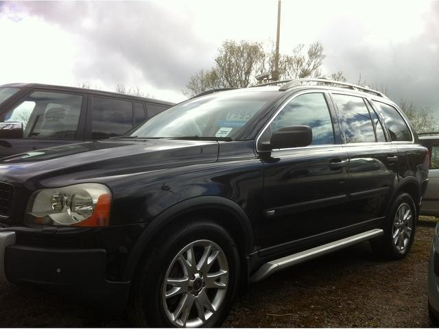 used volvo xc90 2006 black paint petrol 2 9 t6 se 5dr 4x4 for sale in stoke on trent uk autopazar. Black Bedroom Furniture Sets. Home Design Ideas