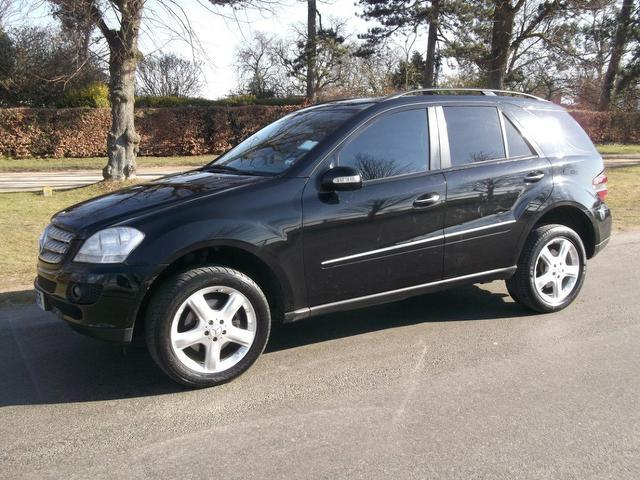 Used Mercedes Benz Class Ml280 Cdi Sport 4x4 Black 2007 Diesel for Sale in UK