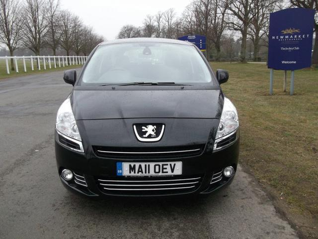 used peugeot 5008 2011 manual diesel 1 6 hdi 112 sport black for sale uk autopazar. Black Bedroom Furniture Sets. Home Design Ideas