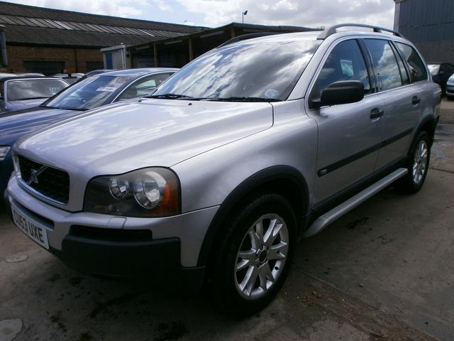 used volvo xc90 2003 petrol 2 9 t6 se 5dr 4x4 silver with alloy wheels for sale autopazar. Black Bedroom Furniture Sets. Home Design Ideas