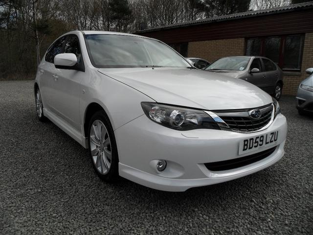 used 2009 subaru impreza hatchback 2 0 rx 5dr touch petrol for sale in inveralmond place uk. Black Bedroom Furniture Sets. Home Design Ideas