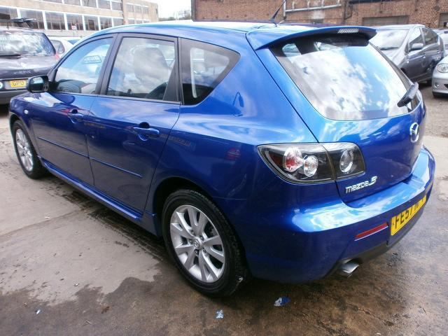 used mazda mazda3 2007 petrol 1 6 tamura 5dr hatchback blue with alloy wheels for sale autopazar. Black Bedroom Furniture Sets. Home Design Ideas