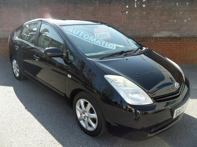 used toyota prius 2005 black paint hybrid 1 5 vvti t4 hatchback for sale in southampton uk. Black Bedroom Furniture Sets. Home Design Ideas