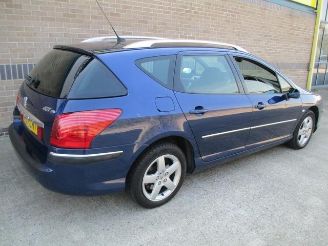 used 2007 peugeot 407 estate blue edition 2 0 hdi 136 se diesel for sale in norwich uk autopazar. Black Bedroom Furniture Sets. Home Design Ideas