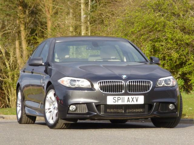 used bmw 5 series car 2011 grey diesel 520d m sport saloon for sale in turrif uk autopazar. Black Bedroom Furniture Sets. Home Design Ideas