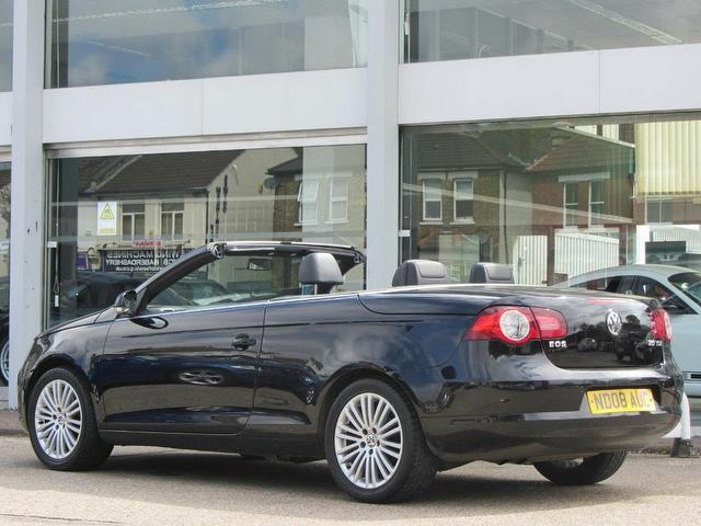used 2008 volkswagen eos convertible black edition 2 0 tdi. Black Bedroom Furniture Sets. Home Design Ideas