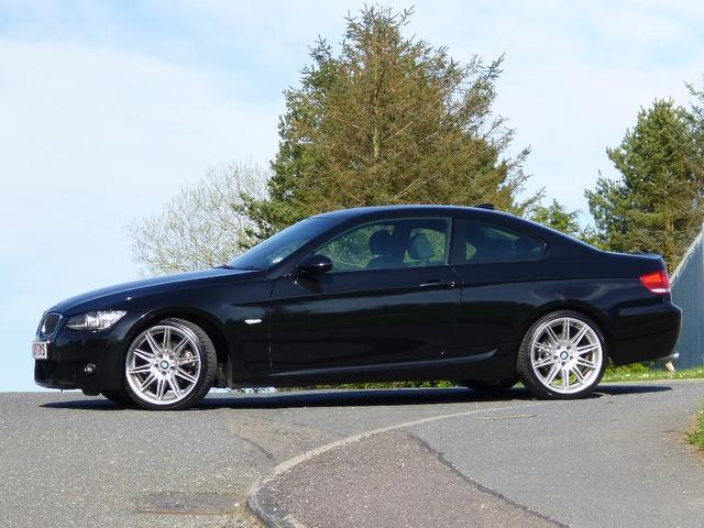 used 2007 bmw 3 series coupe black edition 320d m sport diesel for sale in turrif uk autopazar. Black Bedroom Furniture Sets. Home Design Ideas