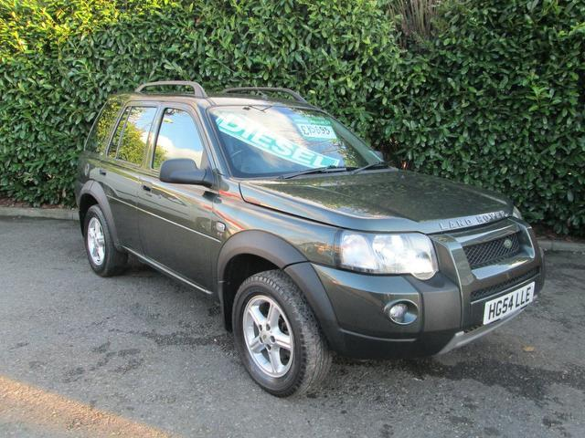 used land rover freelander car 2004 green diesel 2 0 td4 se 4x4 for sale in southampton uk. Black Bedroom Furniture Sets. Home Design Ideas