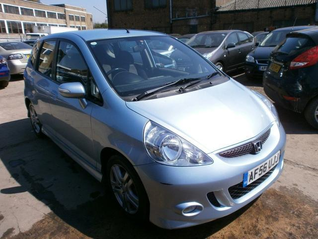 Used Honda Jazz 2006 Blue Paint Petrol 14 I Dsi Sport 5dr Hatchback