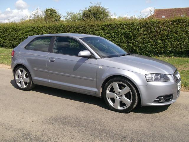 used audi a3 2008 automatic diesel 2 0 tdi 170 s grey for sale uk autopazar. Black Bedroom Furniture Sets. Home Design Ideas