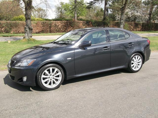 used lexus is 2007 petrol 250 se l 4dr auto saloon grey edition for sale in newmarket uk autopazar. Black Bedroom Furniture Sets. Home Design Ideas