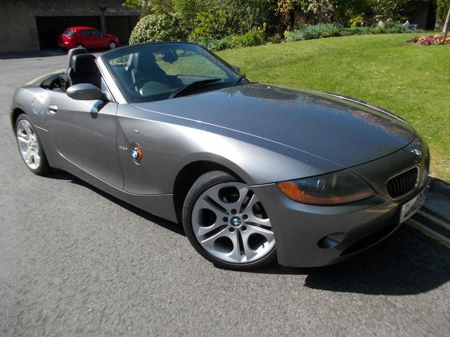Used Bmw Z4 Car 2003 Grey Petrol 2 5i 2 Door Auto