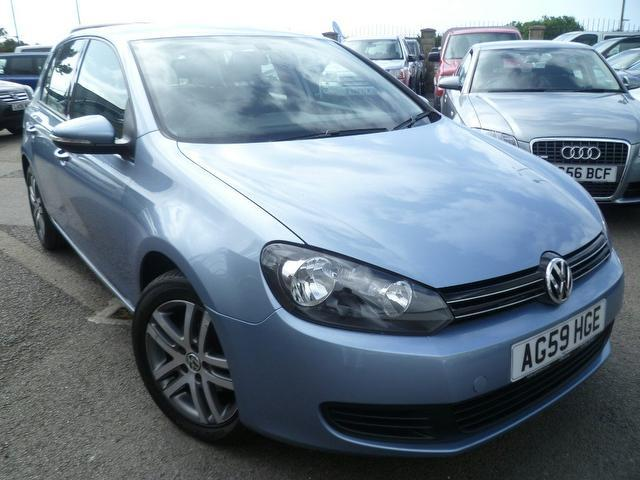 used 2010 volkswagen golf hatchback 1 6 tdi 105 bluemotion. Black Bedroom Furniture Sets. Home Design Ideas