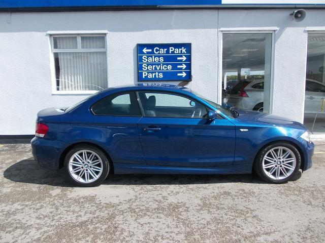 Used Blue Bmw 1 Series 2008 Diesel 120d M Sport Coupe Excellent ...