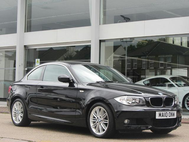 used bmw 1 series 2010 model 120d m sport diesel coupe black for sale in sevenoaks uk autopazar. Black Bedroom Furniture Sets. Home Design Ideas