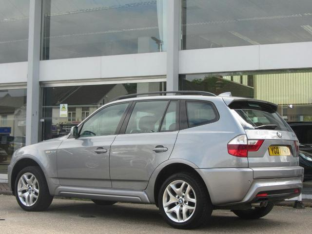 Used Bmw X3 2007 Grey Paint Diesel 30sd M Sport 5dr 4x4 For Sale