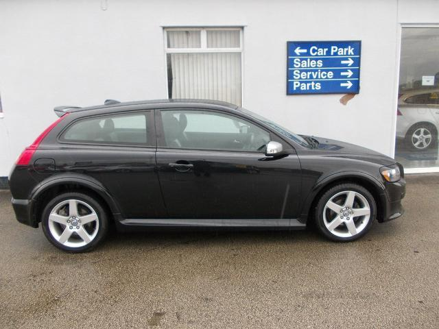 Used Black Volvo C30 2008 Diesel 1 6d R Design Sport Coupe In Great Condition For Sale Autopazar