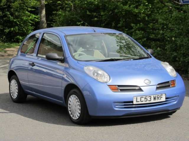 used nissan micra car 2003 blue petrol for sale in epsom uk autopazar. Black Bedroom Furniture Sets. Home Design Ideas
