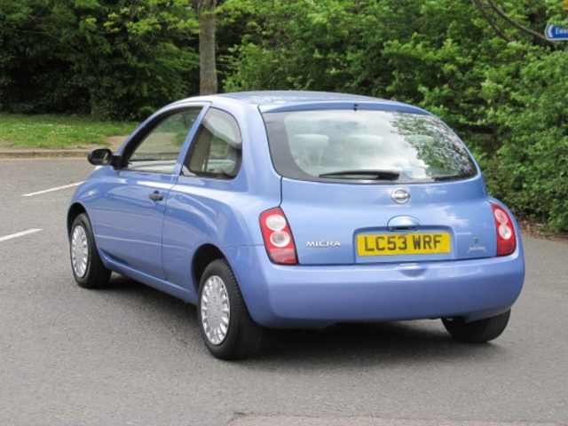 Used Nissan Micra  Blue 2003 Petrol for Sale in UK