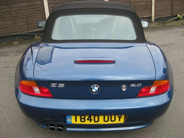Used Bmw Z3 2 0 2003 Petrol 2dr Convertible Blue Manual