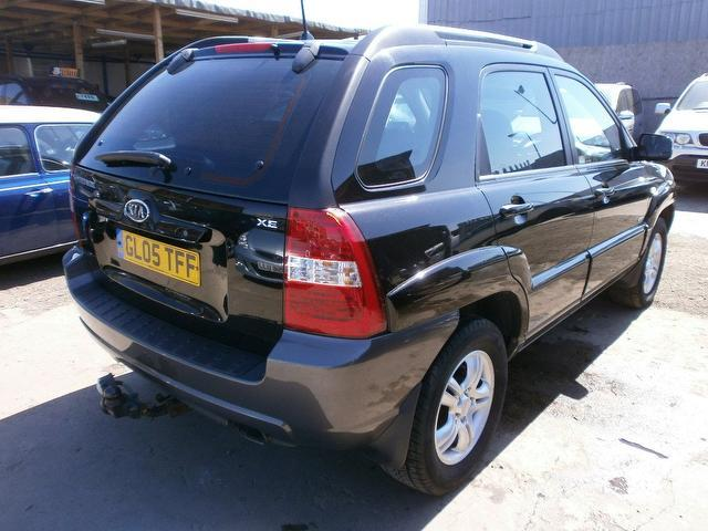 used black kia sportage 2005 diesel 2 0 crdi xe 5dr 4x4 excellent condition for sale autopazar. Black Bedroom Furniture Sets. Home Design Ideas