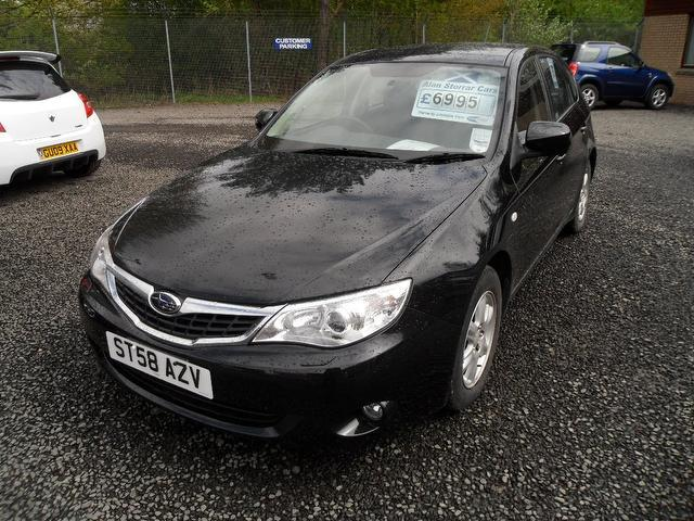 used subaru impreza 2008 black colour petrol 1 5 r 5 door 4wd hatchback for sale in inveralmond. Black Bedroom Furniture Sets. Home Design Ideas