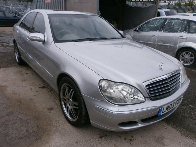Used mercedes benz 2003 diesel class s320 cdi 4dr saloon for Used mercedes benz diesel for sale