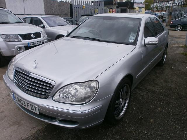 used mercedes benz 2003 diesel class s320 cdi 4dr saloon silver edition for sale in wembley uk. Black Bedroom Furniture Sets. Home Design Ideas