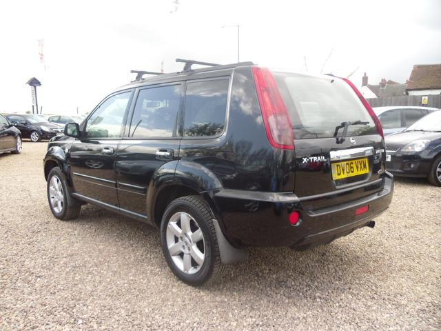 used 2006 nissan x trail 4x4 black edition 2 2 dci 136 aventura diesel for sale in nuneaton uk. Black Bedroom Furniture Sets. Home Design Ideas