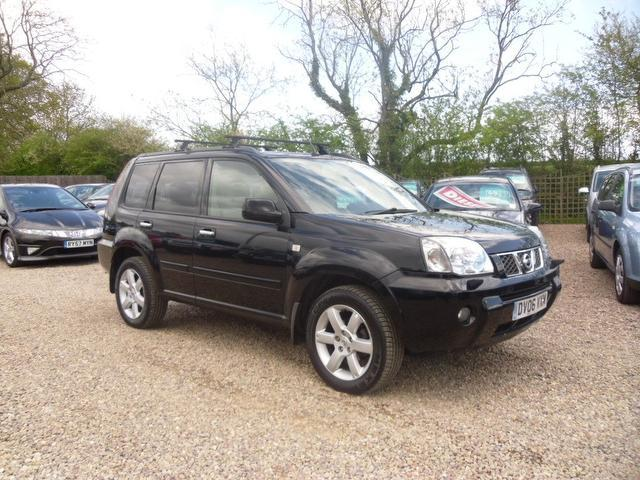 used 2006 nissan x trail 4x4 black edition 2 2 dci 136. Black Bedroom Furniture Sets. Home Design Ideas