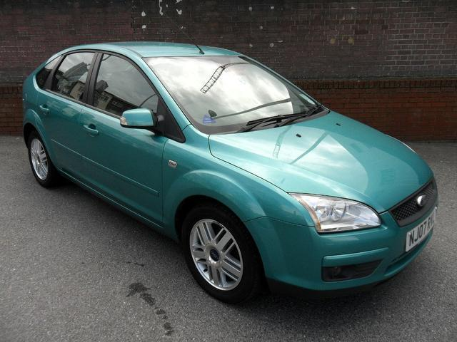 used 2007 ford focus hatchback green edition 1.6 ghia 5dr petrol for