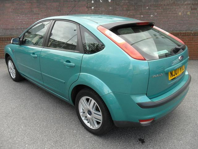 Cars Under 3000 For Sale >> Used 2007 Ford Focus Hatchback Green Edition 1.6 Ghia 5dr Petrol For Sale In Southampton Uk ...