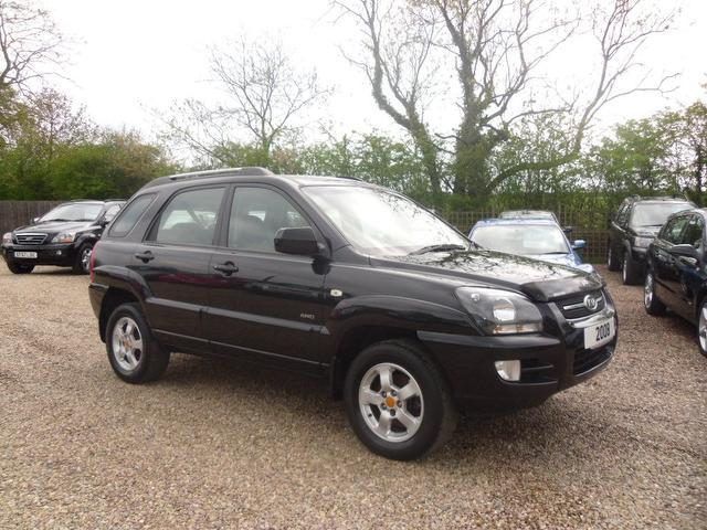 used kia sportage 2008 black paint diesel 2 0 crdi xs 138 4x4 for sale in nuneaton uk autopazar. Black Bedroom Furniture Sets. Home Design Ideas
