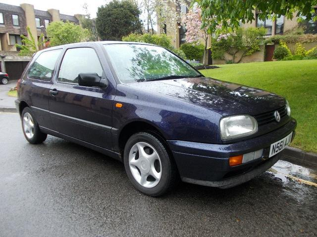 Used Volkswagen Golf 2001 Blue Hatchback Diesel Manual for Sale