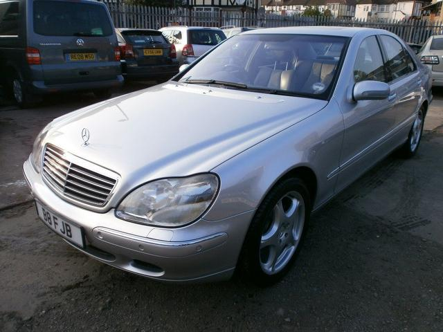 Used mercedes benz 2000 petrol class s430 4dr auto saloon for Mercedes benz s430 for sale