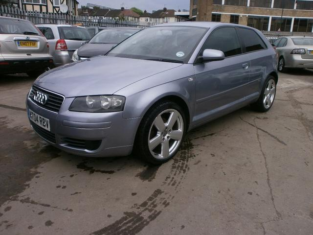 used audi a3 2004 diesel 1 9 tdi 3dr with hatchback silver for sale autopazar. Black Bedroom Furniture Sets. Home Design Ideas