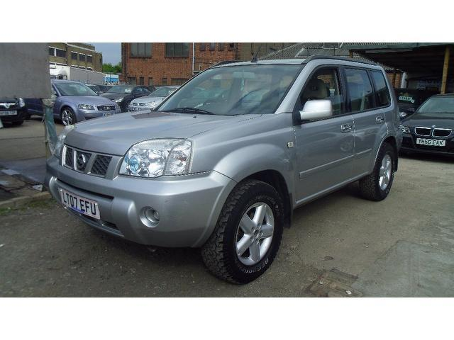 used nissan x trail 2007 diesel 2 2 dci 136 se 4x4 silver edition for sale in wembley uk autopazar. Black Bedroom Furniture Sets. Home Design Ideas